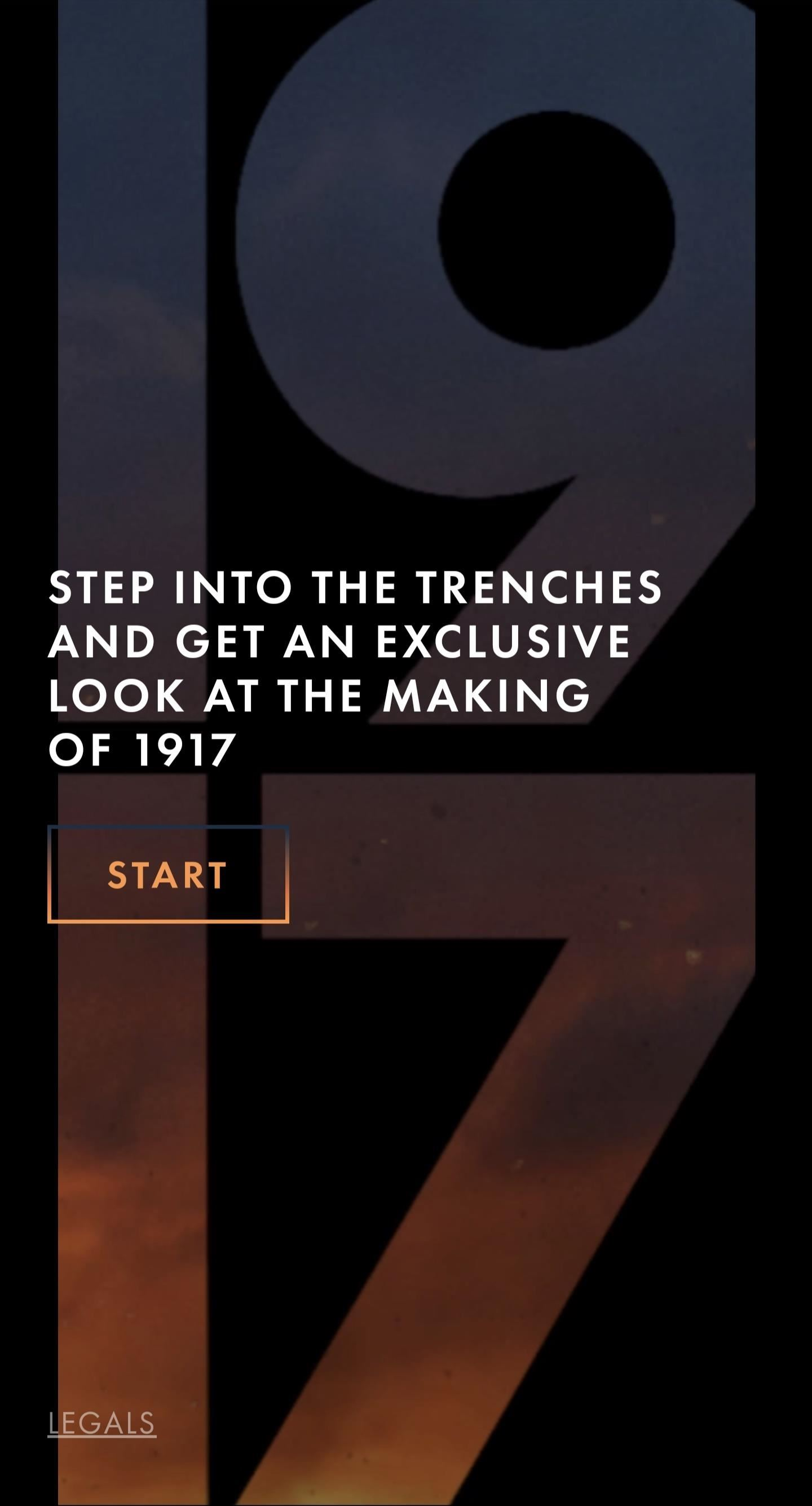 Explore the Grueling Wartime Trenches of Golden Globe Winning Movie '1917' via Web-Based AR Experience