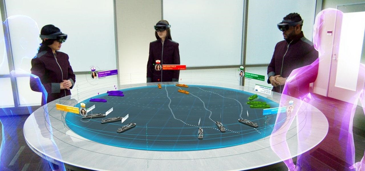 Microsoft Japan Concept Video Demos How HoloLens Will Help Pilot the Drone Ships of the Future