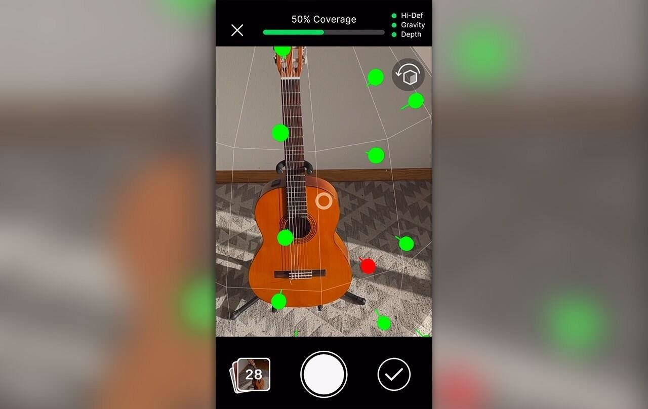 Apple's Object Capture Puts 3D Scanning Market on Notice, but Unity Benefits via Project MARS Integration