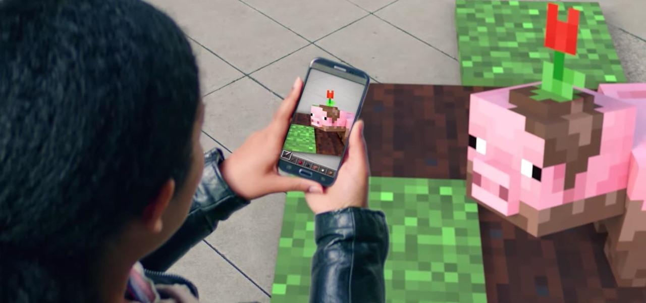 Microsoft Teases Minecraft Augmented Reality Game for Mobile at Build 2019