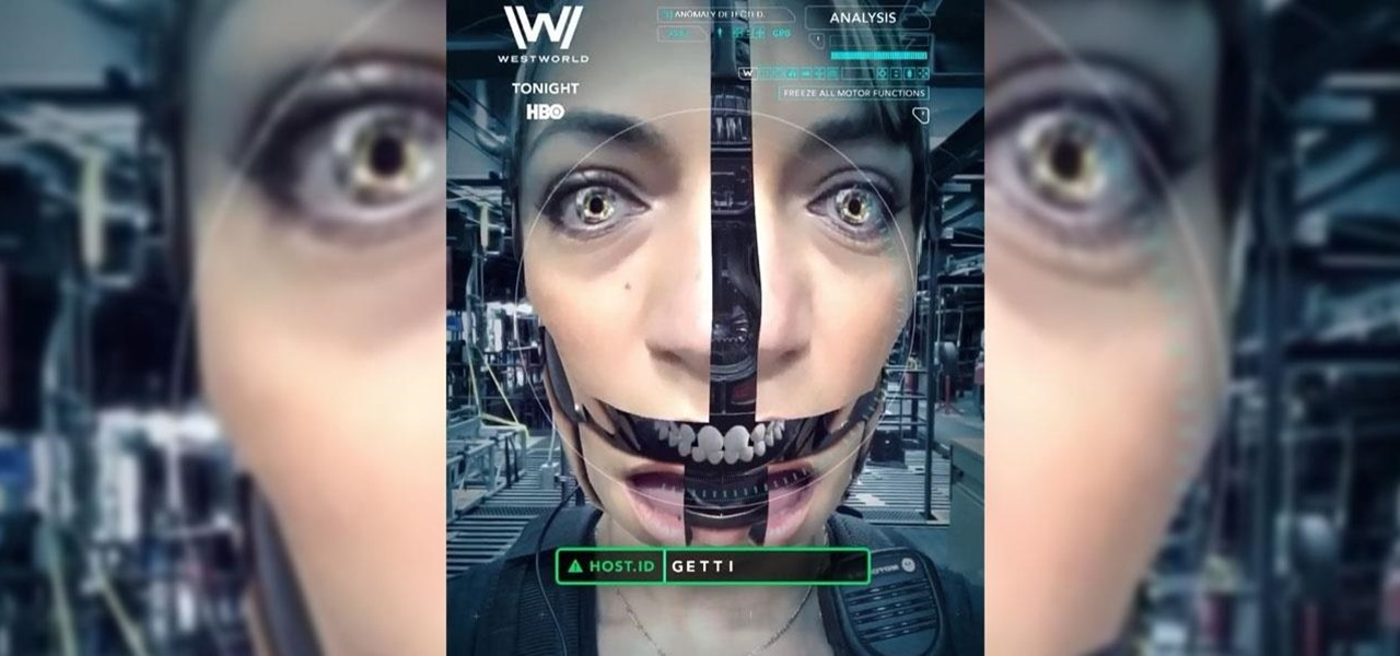 HBO's 'Westworld' Snapchat Filter Lets You Take Part in the Robot Revolution