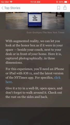 New York Times Adds AR to Its Coverage in Time for Winter Olympics