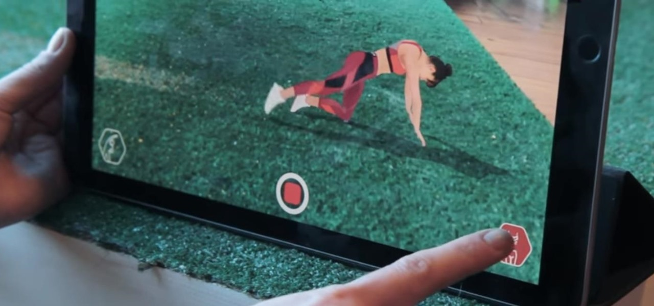 Amazon Pushes Athletic Wear in Augmented Reality with Mo-Capped Fitness Models