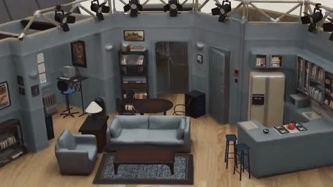 Hang on to Seinfeld's apartment via an augmented reality replica on your iPhone or iPad