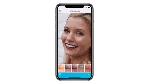 Team Behind Popular Photo App FaceTune2 Jumps on the AR Bandwagon with Cosmetics Try-On Filters