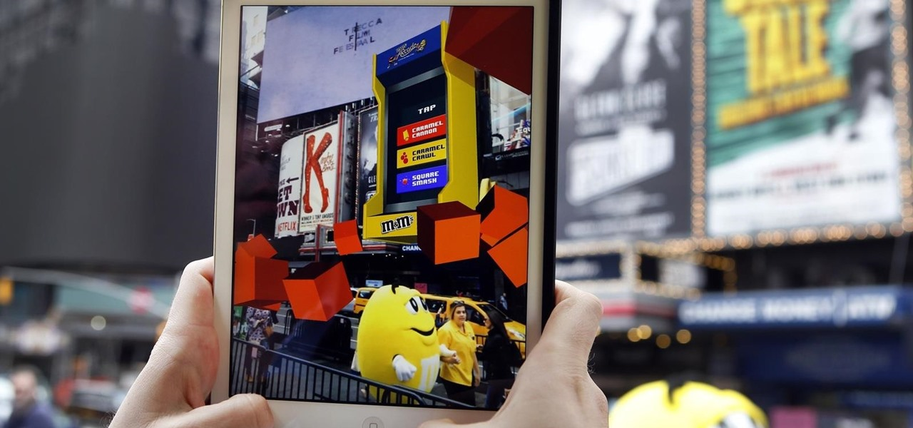 Blippar Delivers ARcade for M&M's Promotion