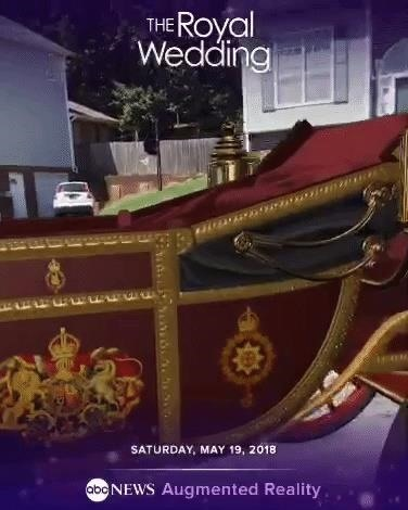 ABC News Seeks Audience with Royal Wedding Onlookers via AR App