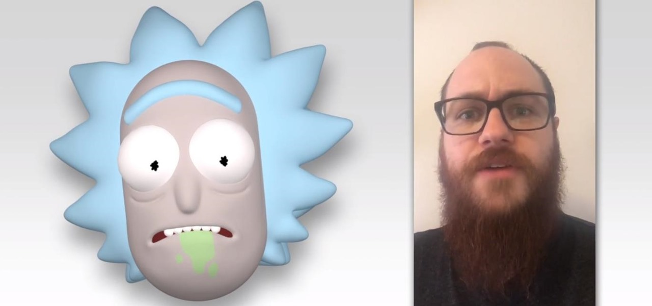 Now There's an Animoji for Rick from 'Rick & Morty'