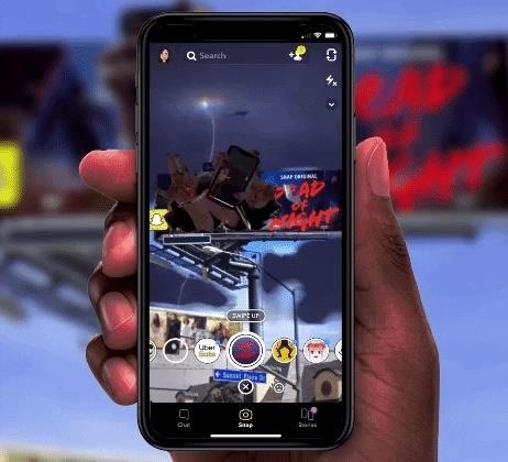Snapchat Doubles Down on AR Billboards to Promote Snap Originals Series