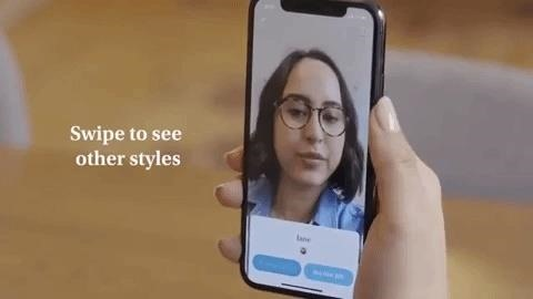 Warby Parker Makes It Easier to Try on Eyeglasses at Home with AR Update to Glasses App for iPhone X Series