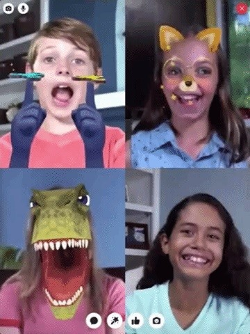 Facebook's New Messenger Kids Aims to Lock in Young AR Users, Give Parents More Control