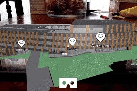 University of Washington Students Preview New Computer Science Building in Augmented Reality