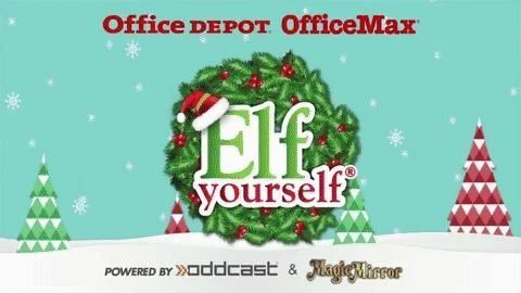 Office Depot Updates Elf Yourself App with the Tiniest Bit of AR